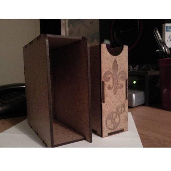 Выдвижная коробка макет