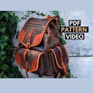 Выкройка рюкзака от Creative Awl