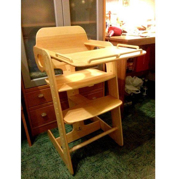 Растущий стул для кормления