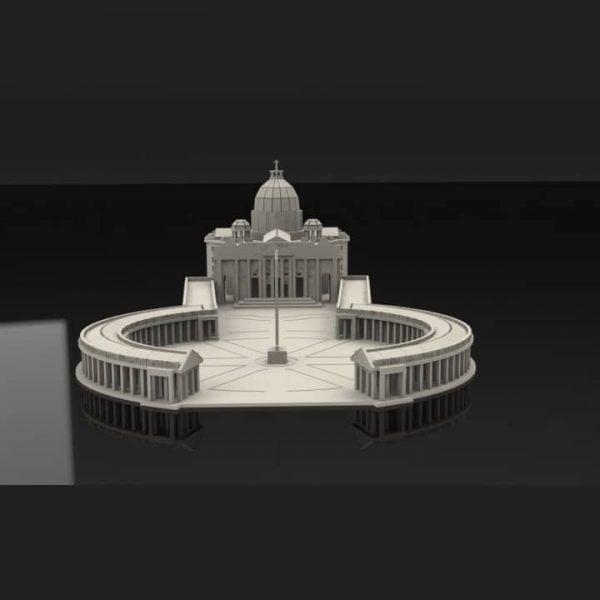 Макет Ватикана