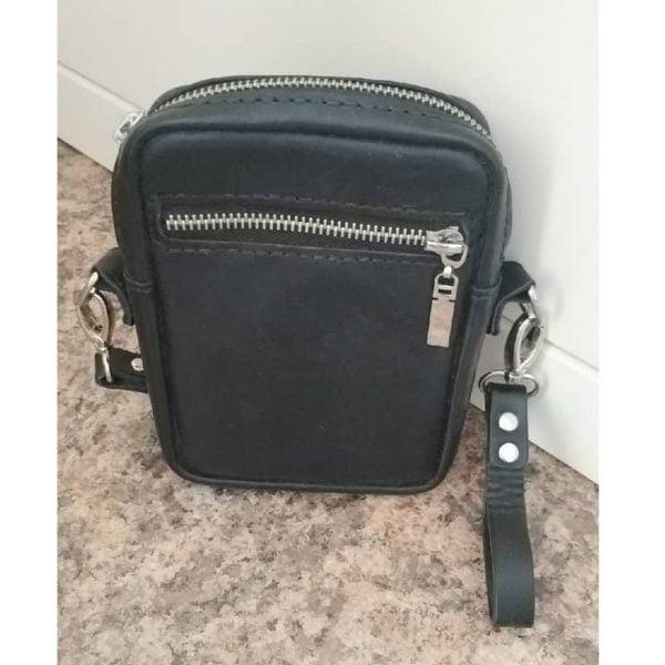 Выкройка мини сумки на пояс
