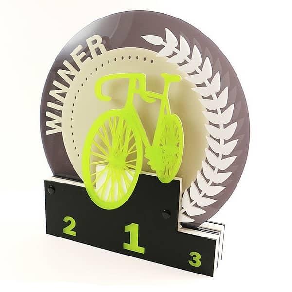 Акриловая статуэтка Велоспорт
