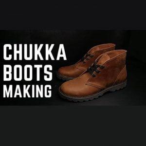 Выкройка ботинок Чукка