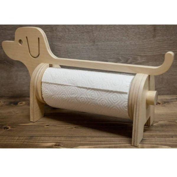 Держатель полотенца собака