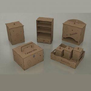 Детский набор коробочек