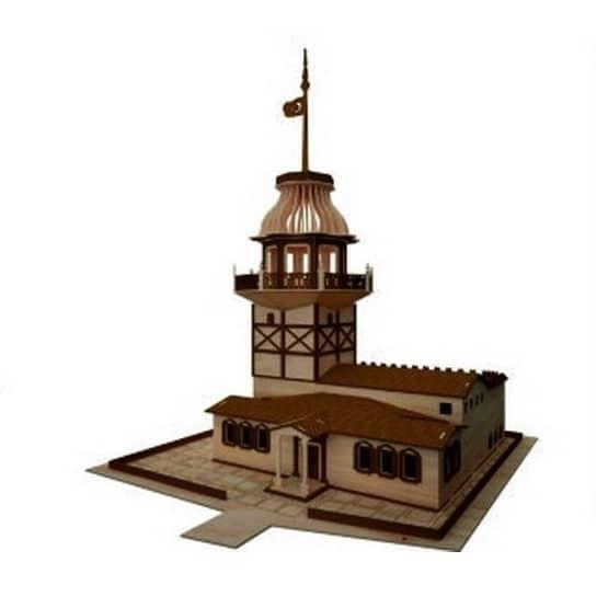 Девичья башня макет