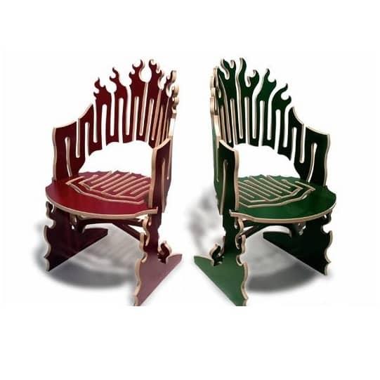 Игрушечное кресло макет