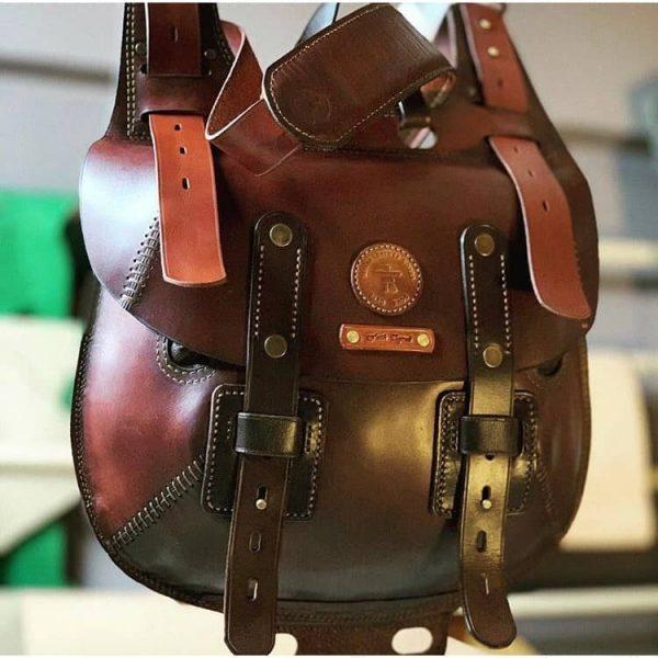 Выкройка сумки охотника
