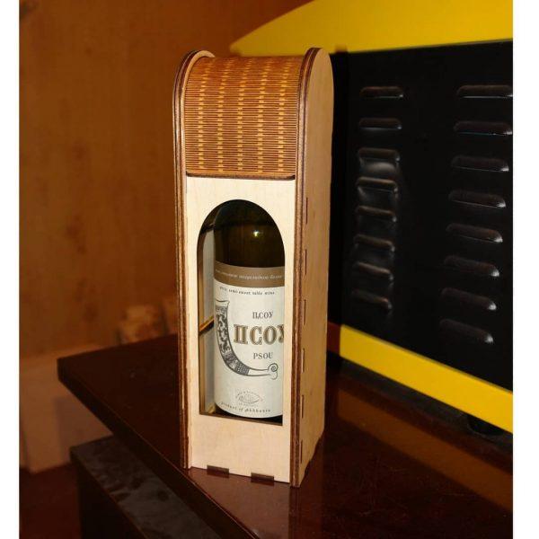 Коробка под вино с ширмой