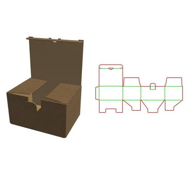 Коробка с замочком