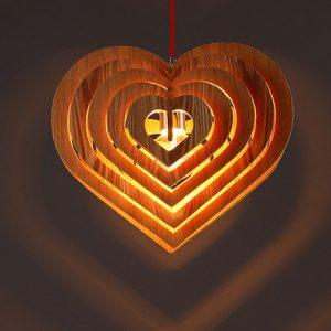 Лампа сердце