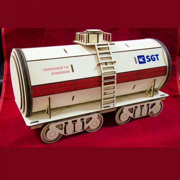Макет железнодорожной цистерны