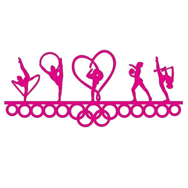 Медальница гимнастика 2