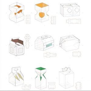Набор коробок 3