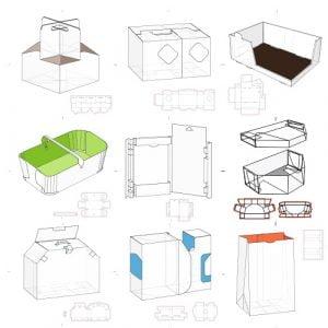 Набор коробок 4