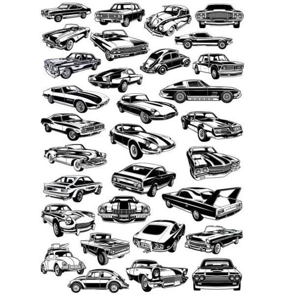 рисунки автомобилей 2