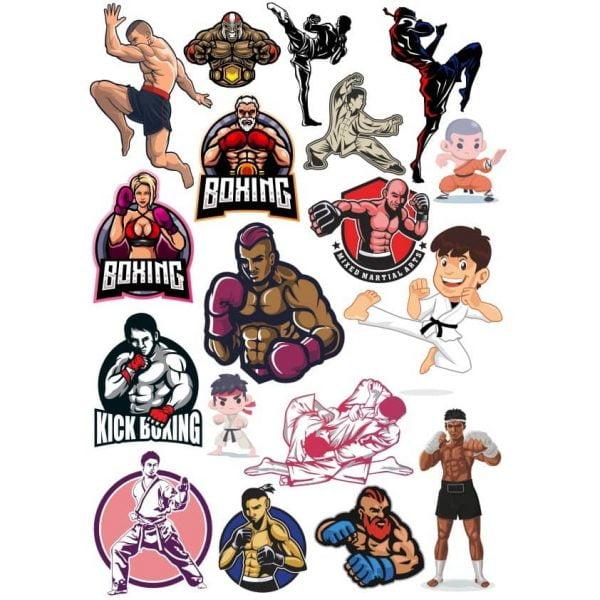 Рисунки бойцов