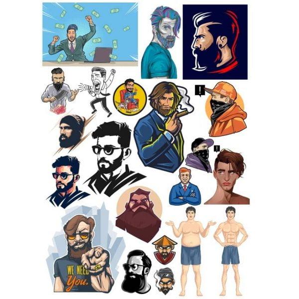 Рисунки мужчин