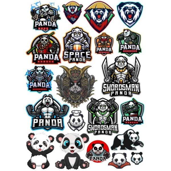 Рисунки панды