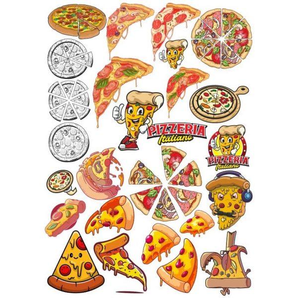 Рисунки пиццы