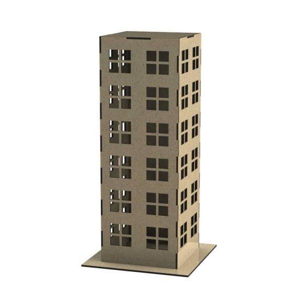 Шестиэтажное здание