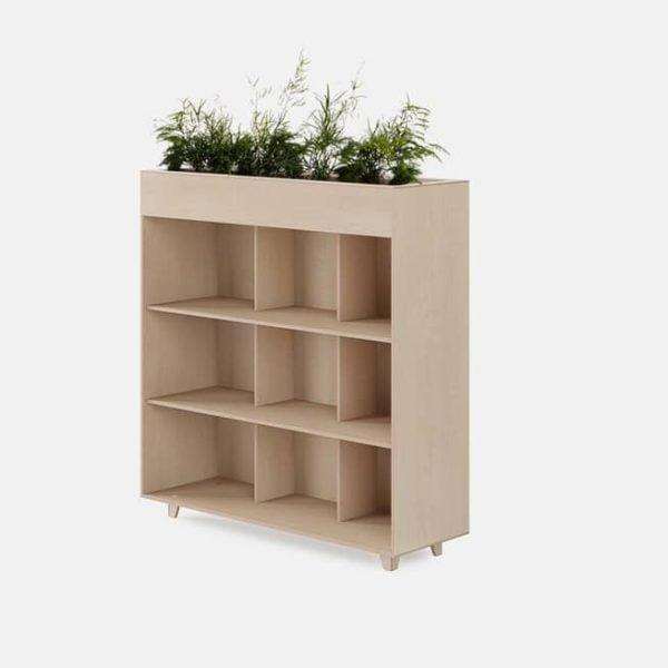 Шкаф с ёмкостью для растений