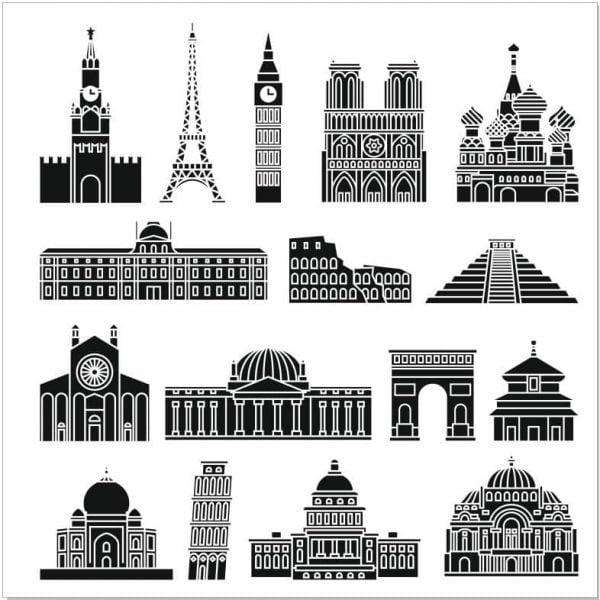 Символы городов мира
