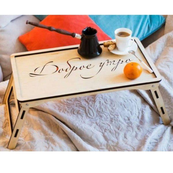 Макет столика в кровать