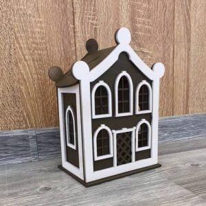 Сувенирный домик копилка