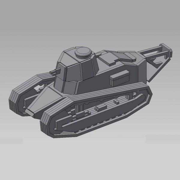 Танк мс-1 макет