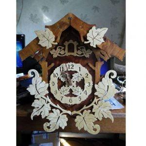 Часы избушка 2 макет