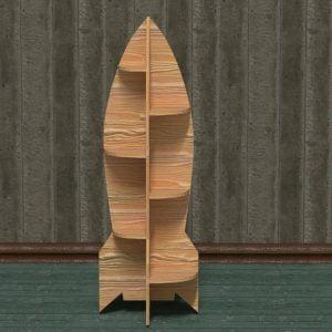 Детская полочка ракета