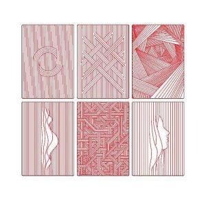 Геометрические обложки для блокнотов