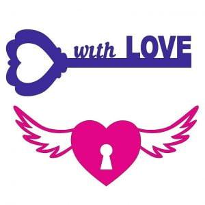 Ключ и замок сердце