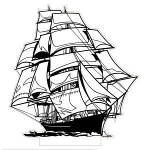 Светящееся табло Корабль