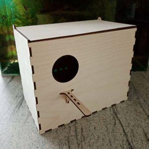 Коробка для гнездования волнистых попугаев