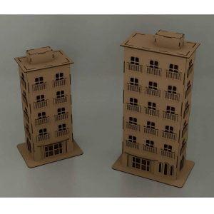 Многоэтажные домики