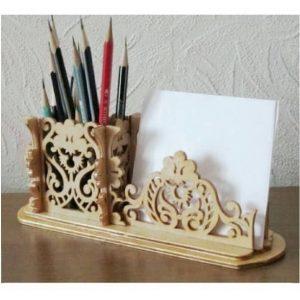Настольная подставка карандашница