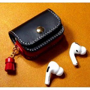 Apple Airpods Pro кожаный чехол