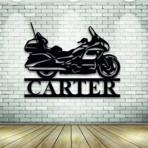 Панно с мотоциклом