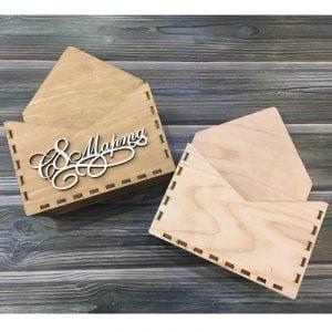 Подарочная коробка конверт
