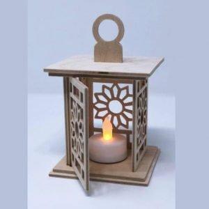 Подвесной фонарь для светодиодной свечки