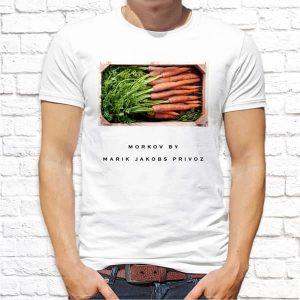 Принт морковь