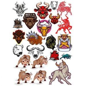 Рисунки быков