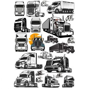 Рисунки грузовиков