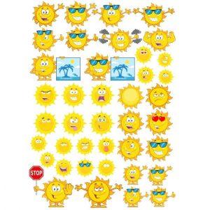 Рисунки солнца