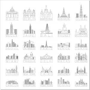 Символы городов мира 2