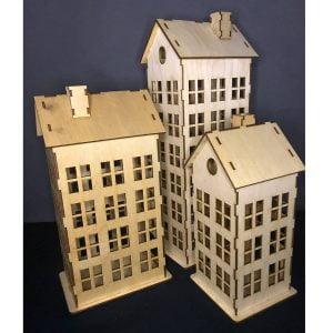 Винтажные многоэтажные дома