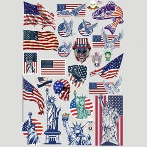 Америка клип арт