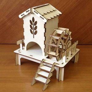 Чайный домик водяная мельница